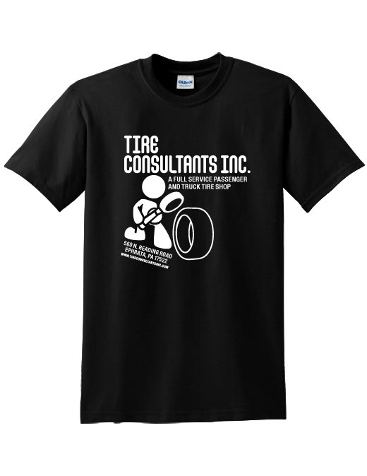 Tire Consultants T-shirt