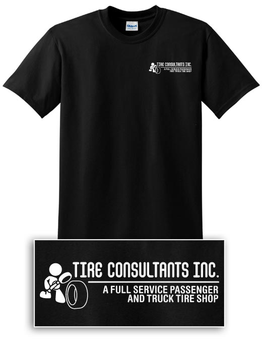 Tire Consultants 2-sided T-shirt