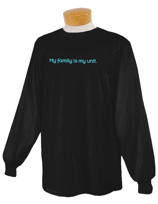 Family Unit Long Sleeve T-shirt