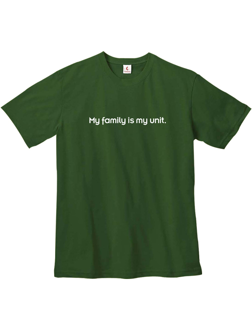 Family Unit Lightweight T-shirt