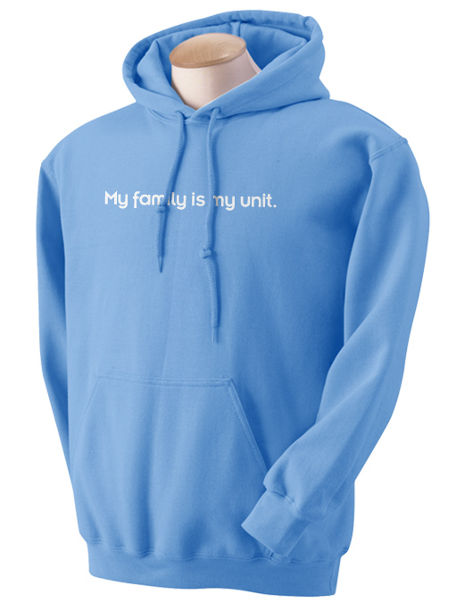 Family Unit Hooded Sweatshirt