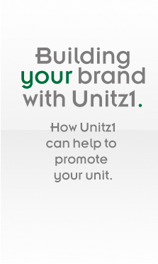 Building your brand with Unitz1. How Unit1z1 can help to promote your unit.